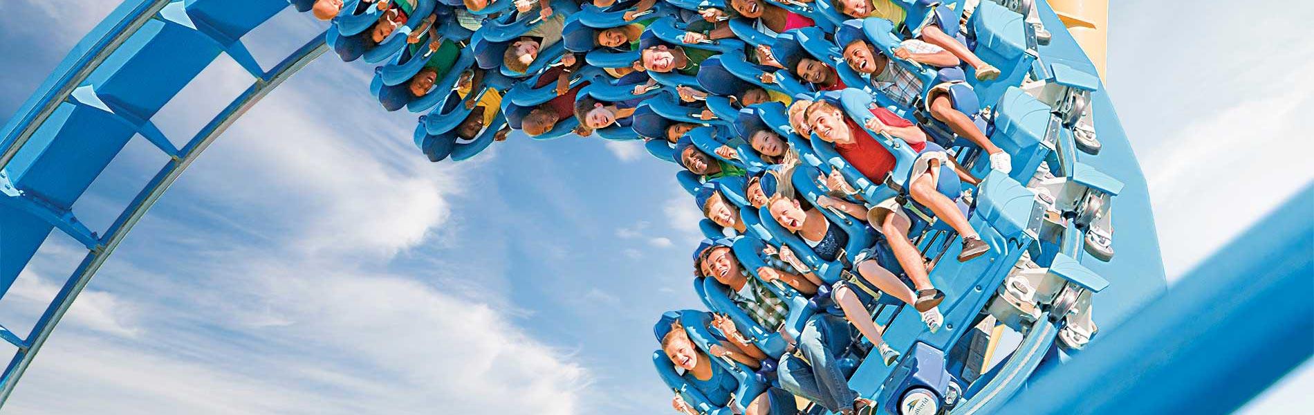 Kraken Roller Coaster at SeaWorld Orlando