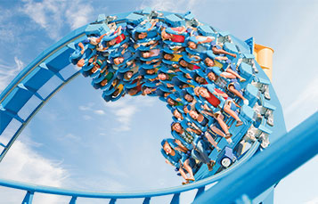 Ride Kraken Unleashed, SeaWorld's first Virtual Reality Roller Coaster.