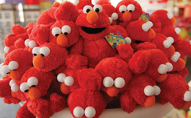 Elmo Plush Merchandise at Sesame Street Land at SeaWorld Orlando