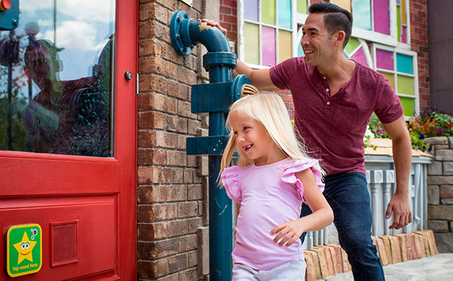 Experience the Interactive areas around Sesame Street at SeaWorld Orlando
