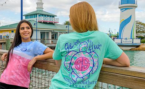 Simply Southern availble at SeaWorld Orlando