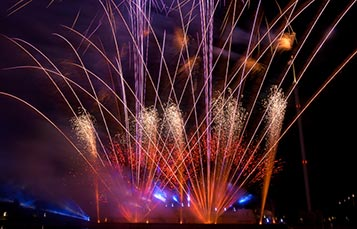 Light Up The Sky Fireworks at SeaWorld Orlando