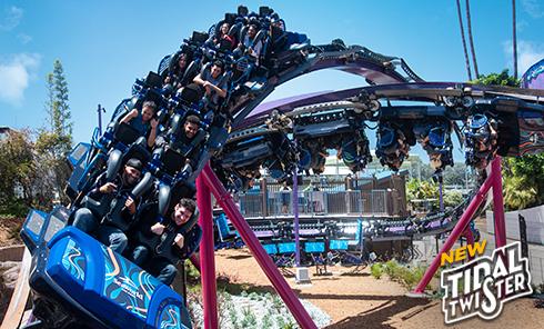 Ride Tidal Twister at SeaWorld San Diego