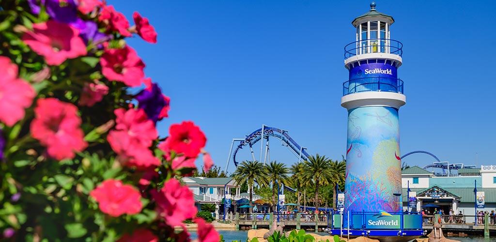 SeaWorld Orlando Lighthouse Park Entrance