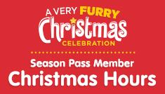 A Very Furry Christmas Celebration Season Pass Member Halloween Hours