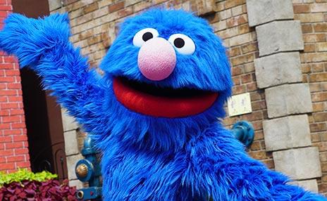 Meet Grover at Sesame Place Langhorne, PA