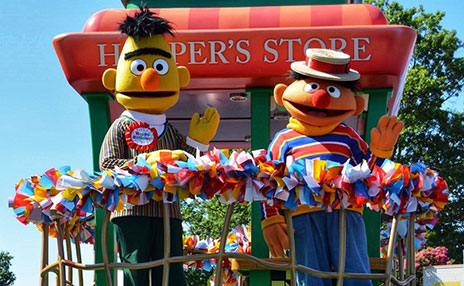 Meet Bert and Ernie at Sesame Place