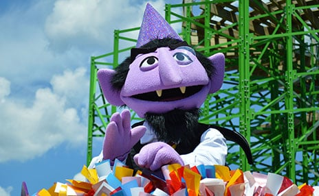 Meet The Count at Sesame Place
