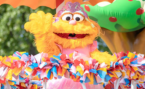 Meet Zoe at Sesame Place