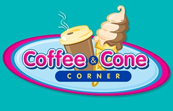 Coffee and Cone Corner Logo