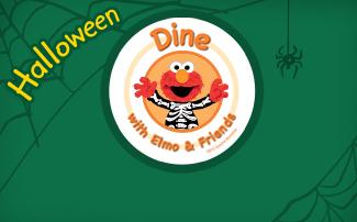 Halloween Dine with Elmo & Friends