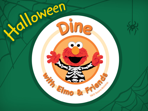 Dine with Elmo