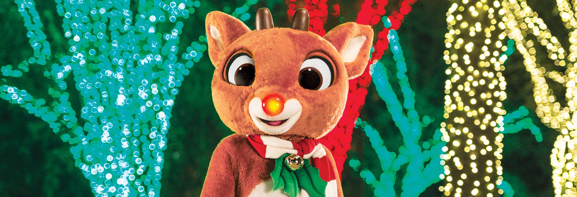 Meet Rudolph the Red-Nosed Reindeer at Sesame Place