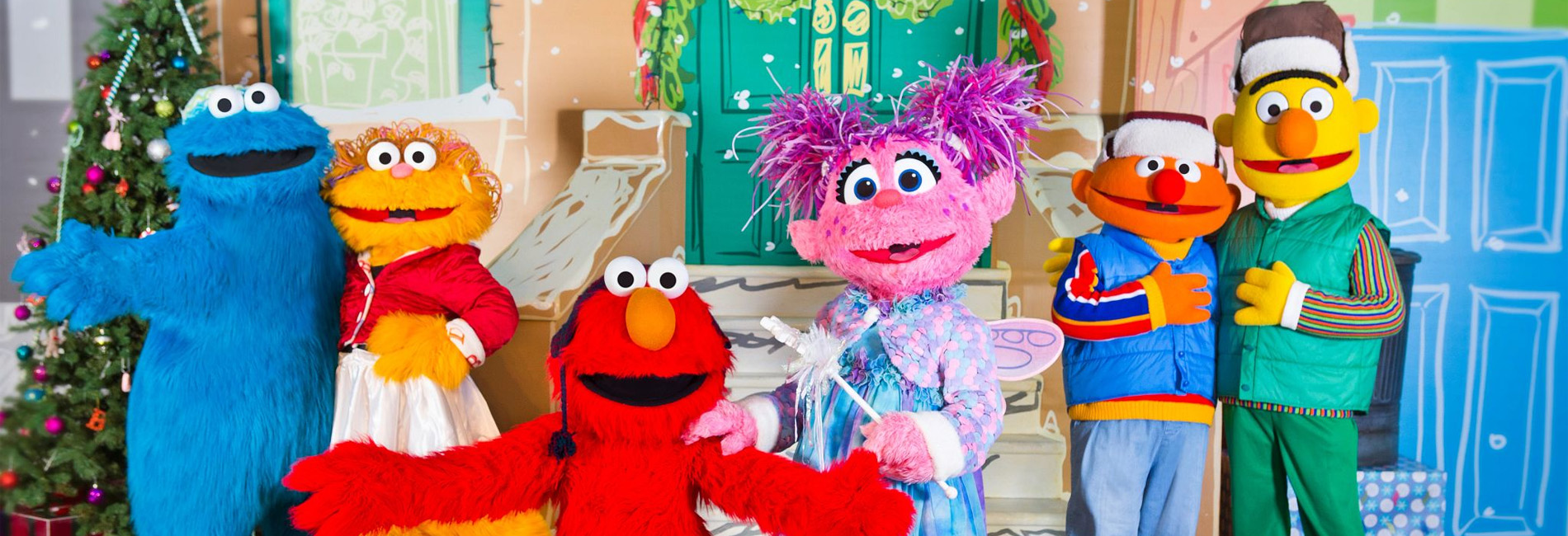A Very Merry Sesame Street Sing-Along Show at Sesame Place