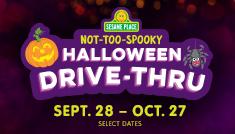 Sesame Place Not Too Spooky Halloween Drive Thru