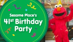 Sesame Places 41st Birthday Party