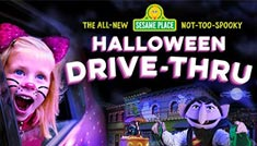 The All New Sesame Place Not Too Spooky Halloween Drive Thru