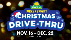 Sesame Place Christmas Drive-thru Event