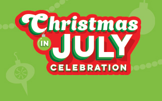 Christmas in July at Sesame Place