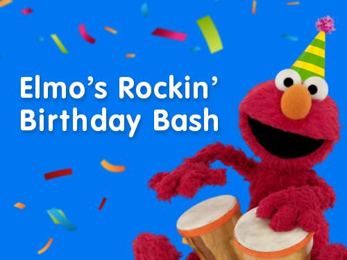 Elmo's Birthday Bash