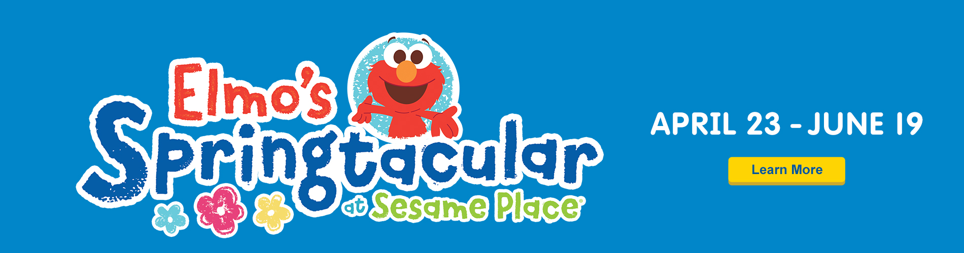 Elmos Springtacular at Sesame Place
