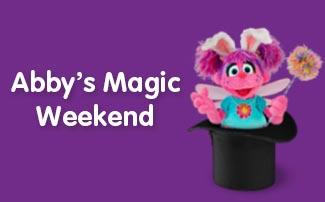 Abbys Magic Weekend during Elmos Springtacular at Sesame Place