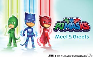 PJ Masks Meet and Greets at Sesame Place