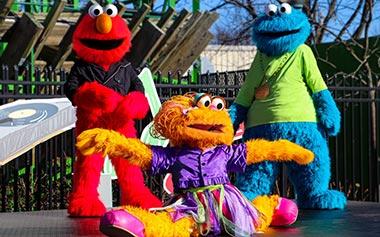 Sesame Place Dance Party
