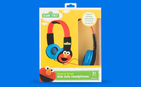 Sesame Street Character Headphones