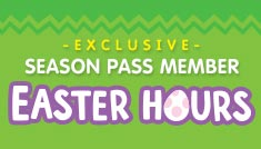 Sesame Place Exclusive Season Pass Member Easter Hours