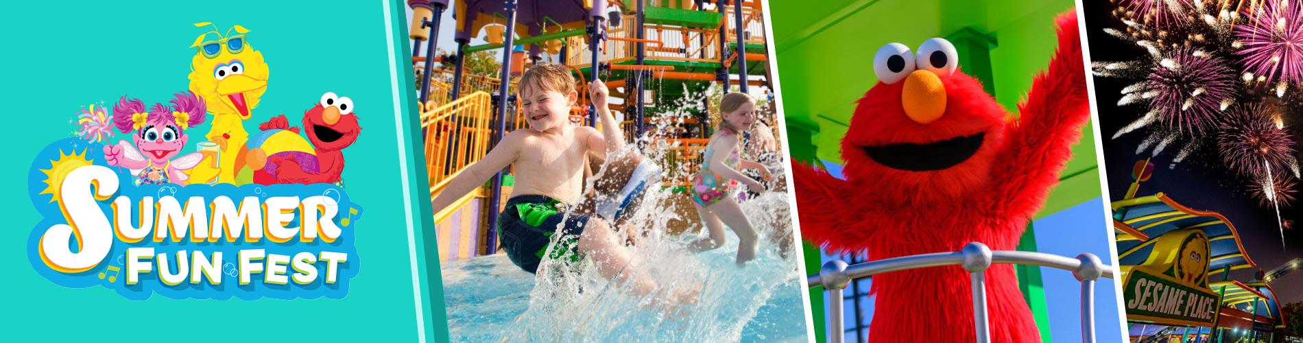 Splashy Summer Fun at Sesame Place