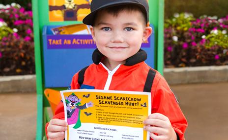 Scarecrow Scavenger Hunt