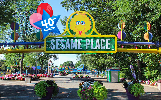 Sesame Place Front Gate
