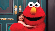 Elmo and Girl