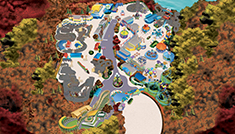 Sesame Place Philadelphia Halloween Park Map