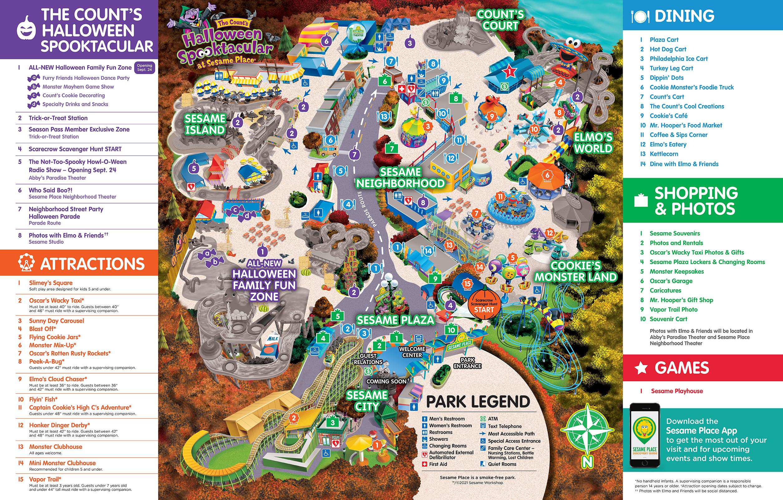 Spooktacular Map
