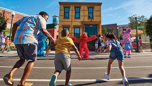 Sesame Place Neighborhood Buildings