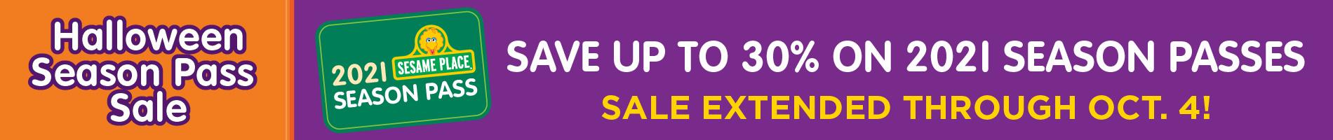 Season Pass Sale: Save 30%
