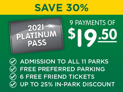 Platinum Pass - Save 30%