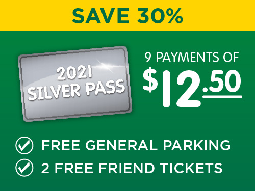 Silver Pass - Save 30%