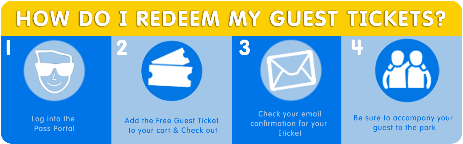 How to Redeem Guest Tickets