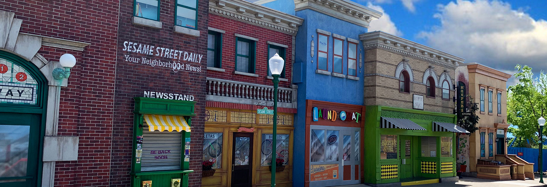 Sesame Street Neighborhood at Sesame Place theme park