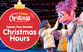 Season Pass Member Christmas Hours
