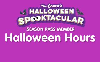 Season Pass Member Halloween Hours