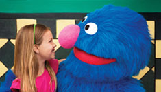 Grover with Girl