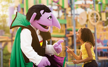 Count with girl