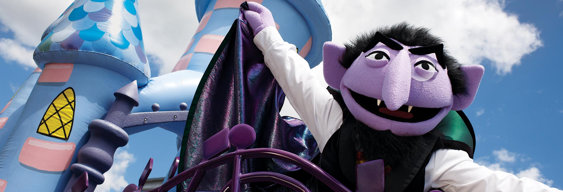 Count von Count at Sesame Place