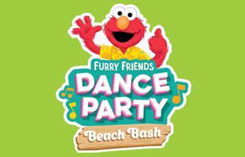 Furry Friends Dance Party Beach Bash