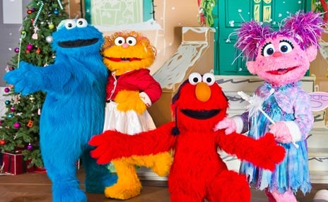 A Very Merry Sesame Street Sing-Along during A Very Furry Christmas at Sesame Place