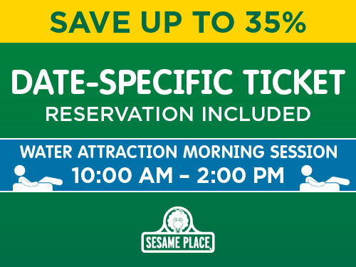 Date Specific Ticket Morning Water